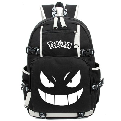 Cosplay Bag Anime Luminous Printing Backpack Pokemon Gengar Cosplay Backpacks School Bags for Teenager Girls Boys Mochila Feminina