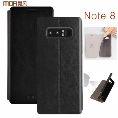 For samsung galaxy note 8 case PU leather MOFi for samsung note 8 flip case note8 stand holder book style for SM-N950F SM-N9500