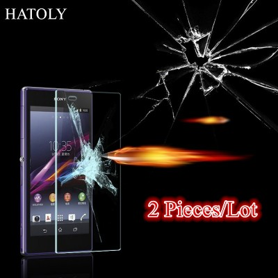 For Glass Sony Xperia Z2 Tempered Glass for Sony Xperia Z2 Screen Protector for Sony Z2 Glass HD Film D6502 D650 D6503 L50W