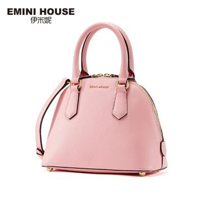 EMINI HOUSE 2019 Summer Fashion Shell Bag Split Leather Women Shoulder Bags Luxury Handbag Crossbody Bag Women Messenger Bags