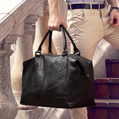 Hot Sale Korean Style 2014 Fashion Men's Messenger Bags Briefcase Large Tote Bag Men's Travel Bag Leather Bags