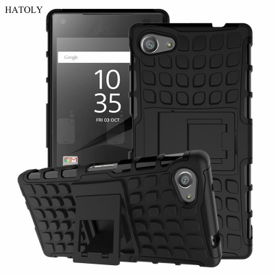 best sneakers 911ad 62bcb For Cover Sony Xperia Z5 Compact Case E5823 E5803 Hard Silicone Case For  Sony Xperia Z5 Compact Cover for Sony Z5 Compact Bag