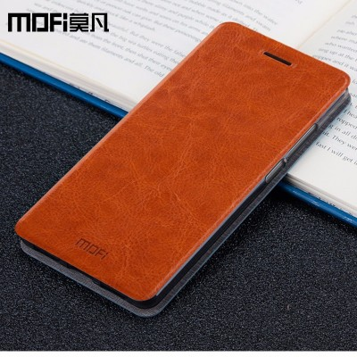 Huawei Honor 9 Case Huawei Honor 9 Flip Cover Leather Back Silicon Phone Original MOFi Huawei Honor 9 Case