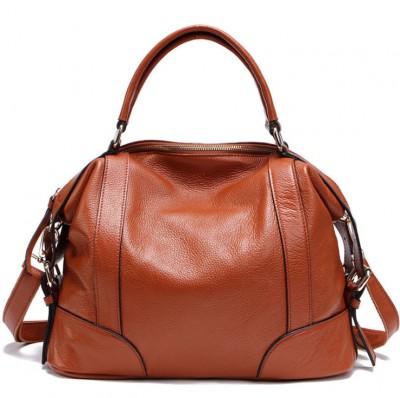 7 Colors NEW 100% Cow's Skin Women GENUINE LEATHER Handbag Calfskin HOBO Shoulder bag crossbody bags Fashion FOR girl  Z011