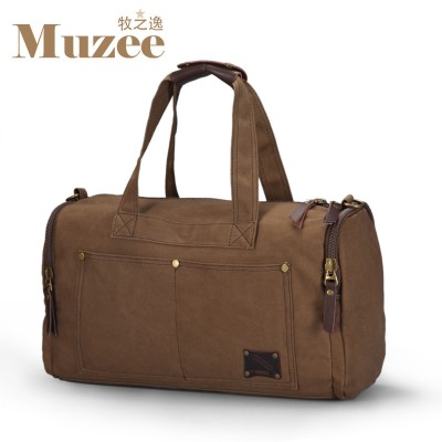 2019 Muzee Travel Bag Large Capacity Men Hand Luggage Travel Duffle Bags Canvas Weekend Bags Multifunctional Travel Bags