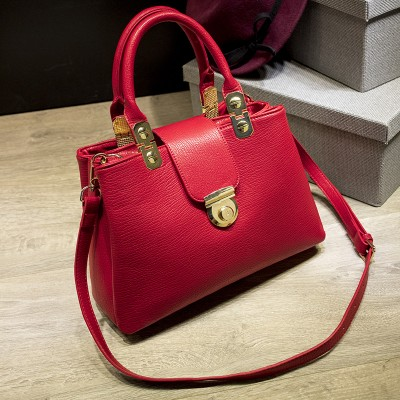Summer Small Women Handbag Fashion Hasp Shell Women top-handle bag leather fashion lady wristles bag business OL shoulder bag
