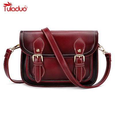 2019 New Brand Designer Women Bags Satchels Crossbody Bags Vintage Women Shoulder Bag Retro Messenger Bag Woman Envelope Handbag
