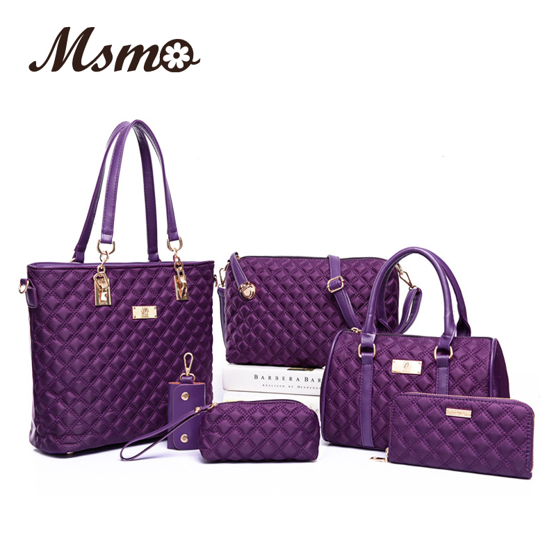 bdd5196f4f09 Fashion Diamond Lattice Women Brands Oxford Women Shoulder Bags ...