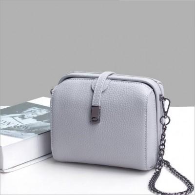 Fashion Vintage Ladies Shell Bag Women Genuine Leather Messenger bags Handbags Purses Sling Shoulder Crossbody bag