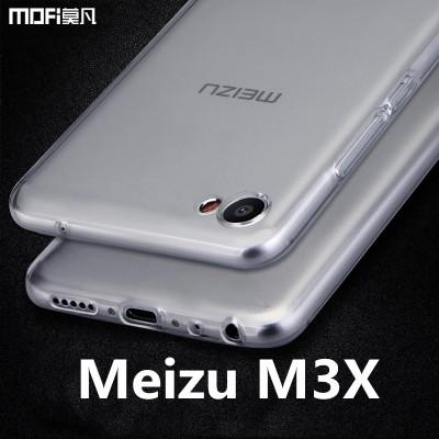Meizu m3x case cover TPU soft back case meilan X transparent silicon clear untra thin meizu x m3x cover capa coque funda type c