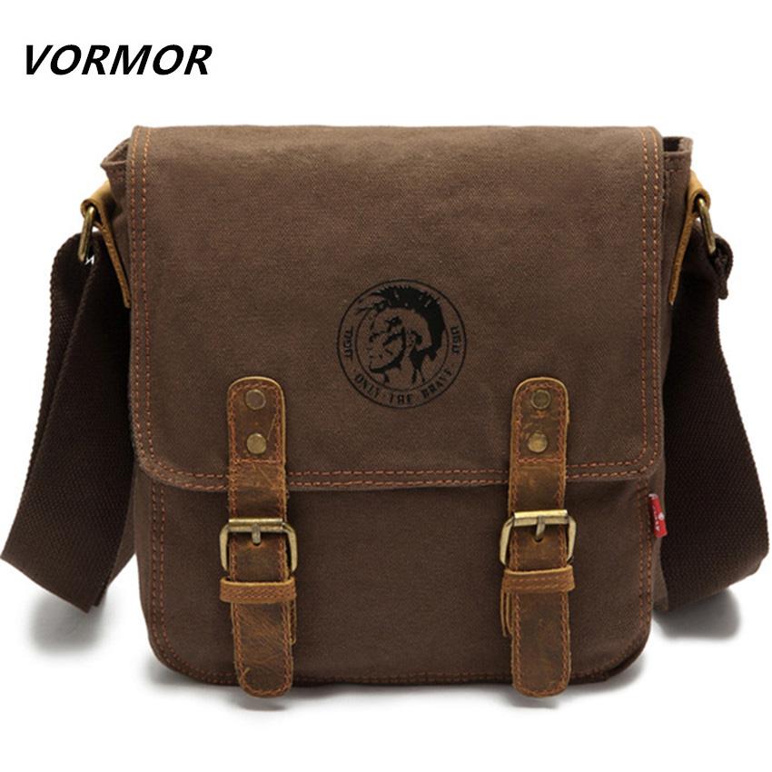 39c2b6d9ddcb ... Crossbody Bags  VORMOR Brand Thick canvas bag high quality men  messenger bags fashion shoulder bags brand men bag. Image 1