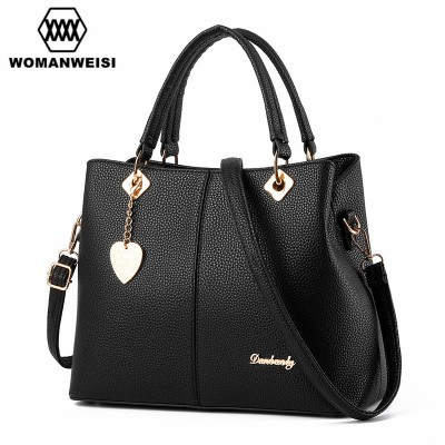 2019 Luxury Women Leather Handbags Famous Designer Brand Female Messenger Bags Cross-body Briefcase Kabelky Bolsos Mujer Saco