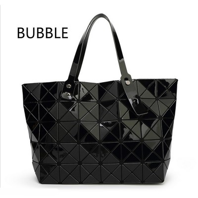 2017 New Fashion Women Pearl Bag Diamond Lattice Tote Geometry Quiltied Handbag BaoBao Woman Geometric Shoulder Bag