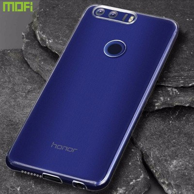 Phone Cases For huawei  huawei honor 8 case tpu soft cover transparent protective case mofi original honor 8 back cover ultrathin flexilbe 5.2 inch