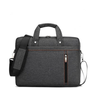 Factory wholesale Business Laptop bag 12 14 15 15.6 17 17.3 inch Fashion Waterproof High-capacity Unisex shoulder Notebook bag