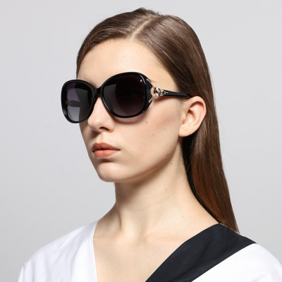 Subtropical (MICROHOT) polarized sunglasses elegant sunglasses fashion women 8842 through coffee color c3