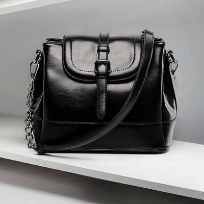 Hot Sale Fashion Women Chains Bucket Bag Messenger Bag