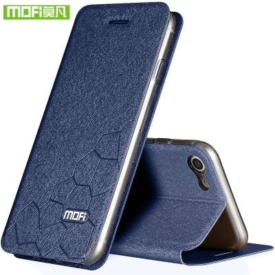 For iphone 8 case 8 plus flip leather wallet luxury brand  for apple iphone 7 case 7 plus cover silicone mofi protector glitter