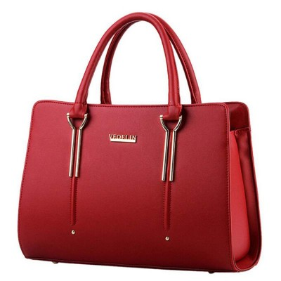 Famous 2017 Women Shoulder Bags Excellent Women Leather Handbags Ladies Tote Bag Brand Designer Female Handbags Women Bag