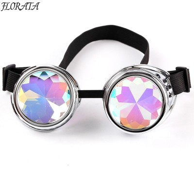 Vintage Steampunk Goggles Glasses Welding Cyber Punk Gothic Cosplay Beautiful Lenses Steampunk Goggles