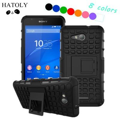 For Cover Sony Xperia E4G Case Hard Silicone Phon Case for Sony Xperia E4G Cover for Sony E4G Phone Bag E2003 E2006 E2053 E2043