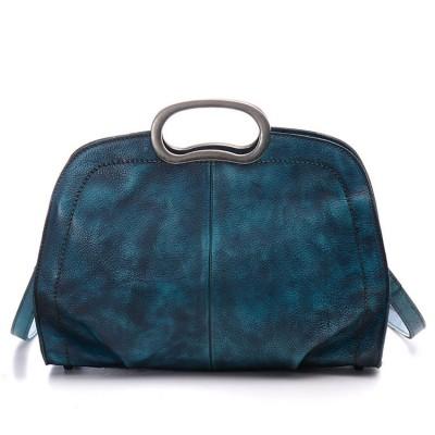 2019 New Handmade Hobos Genuine Leather Soft Vintage Women Handbag Shoudler Messenger Bag Real Cowhide Feminina Hobo Totes