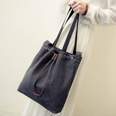 2019 portable shoulder bag canvas bag casual handbags