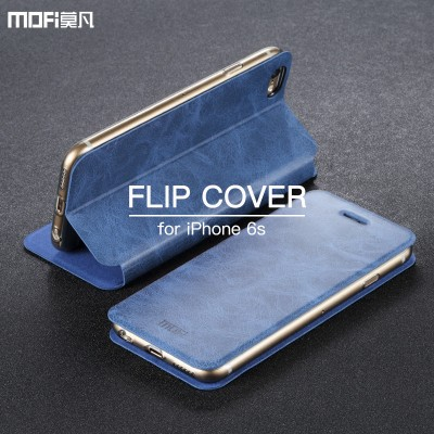Phone Cases For iphone For iphone 6s case wallet case MOFi PU leather kickstand holder card for iphone 6 case for iphone 6s pocket cover cilp capa 4.7""
