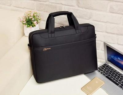 Waterproof 14 15 15 6 Inch Laptop Bag For Hp Lenovo Sony Dell Laptop Bag Computer Bag For Menwomen Briefcase Black Nylon Bag