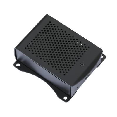 Raspberry Pi 3 Model B Plus Aluminum Case RPI 3 Model B+ Black Case Metal Enclosure Compatible with Raspberry Pi 3 Model B+