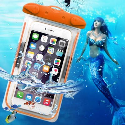 Transparent Waterproof Underwater Pouch Dry Bag Case Cover For iPhone Cell Phone Touchscreen Mobile Phone for NOTE4 / N9100
