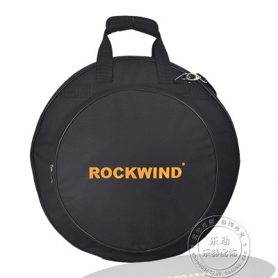 Professional  Portable shoulders backpack 4pcs loaded black 20 Deluxe Cymbal Bag Carrying Case Drums Cymbals Instrument Gig