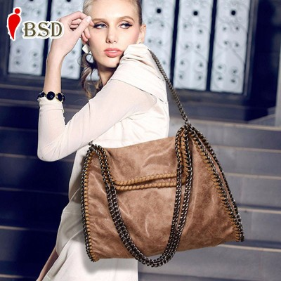 Women bag fashion 2019 Scrub luxury Chain handbag famous designer brand bags women leather handbags women messenger bags vintage