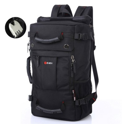 Travel Bag 40L Large-capacity Leisure Backpack For Male School Student Bag Shoulder Laptop Bag Computer Waterproof Travel Duffle