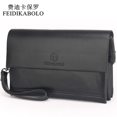 Brand Men Wallets Male Leather Purse Mens Clutch Wallets Clutch Man Handy Bags