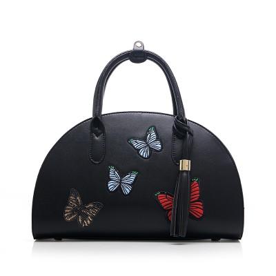New Vintage Women Leather Handbags Fashion Shell Butterfly Bag Womens Tote Bag High Qulilty Handbag Women Messenger Shoulder Bag