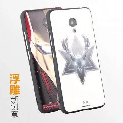 TPU Soft Cases For Meizu M3s Mini M3 Mini 3d relief Printing Drawing cartoon Silicone Phone Cases Cover For M3s Mini Phone Cases For meizu