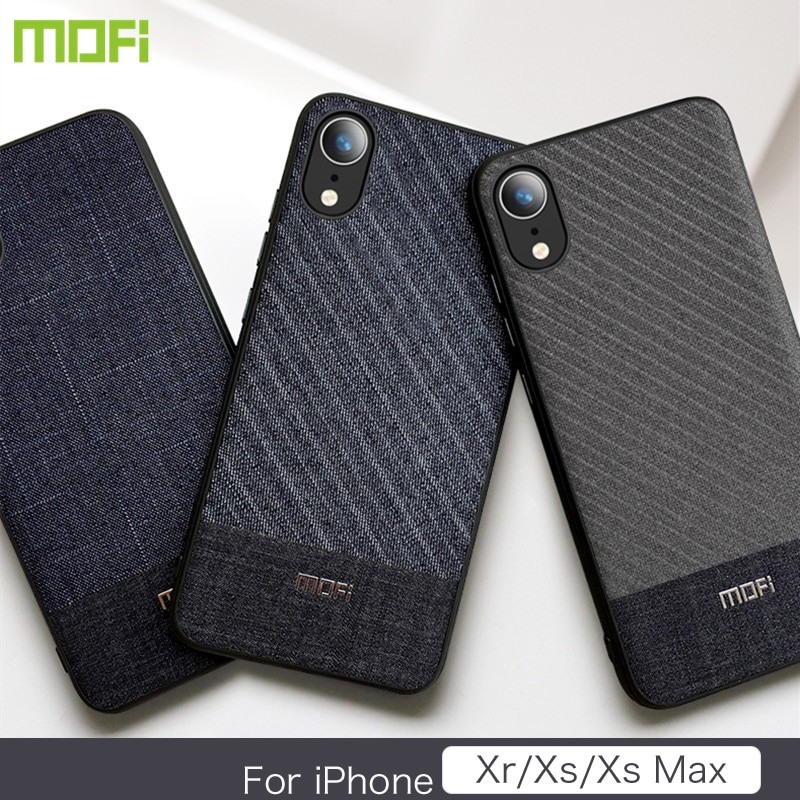 Mofi Case for Iphone XS for Iphone XS Max for Iphone XR Case & Cover Dark Color Business Style Cover For iPhone XS iPhone XS MAX iPhone XR Phone Case