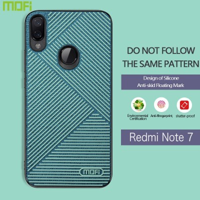 Xiaomi Redmi Note 7 Case Mofi Xiaomi Redmi Note 7 Cover Skidproof Redmi Note 7 Back Cover