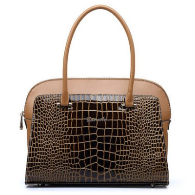 New leather crocodile pattern Women's handbag Female fashion bagJSH337