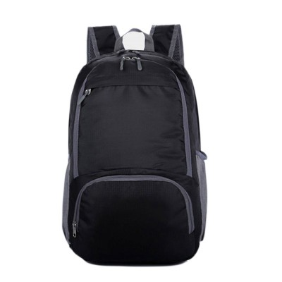 Women & Men Nylon Folding Waterproof Backpack Rucksack Casual Travel Packs Mochila Student School Shoulder Bag Satchel XA1012D