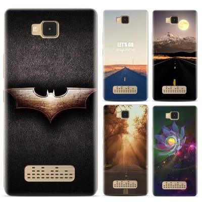 Phone Case For Cubot ECHO Plastic Slim Case For Fundas cubot ECHO Covers Print Back Cover bag