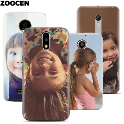 ZOOCEN Personalize For MOTO Custom Diy Durable Plastic Case Cover For Motorola MOTO G4 Plus/X Style Case/X Force Case/G3 Case