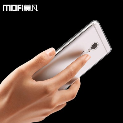 MOFi Case for xiaomi redmi note 4 case tpu soft transparent protective case back cover mofi original redmi note 4 pro prime accessories