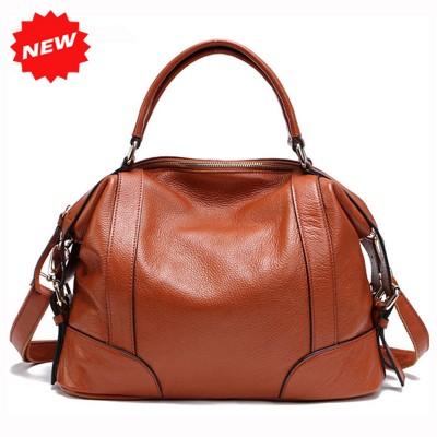 2 Sizes Fashion Tote Bag for Women New Classic Leisure Handbag Genuine Cow Leather Female Messenger Bags bolsa feminina 1006