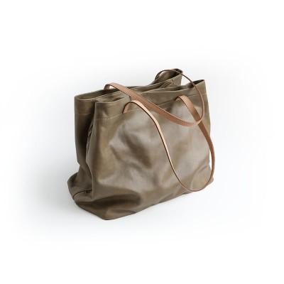 2019 Limited New Women Silt Pocket Zipper Womens Handbag Handmade Genuine Leather Bag Unique One Shoulder The Teethteats Big