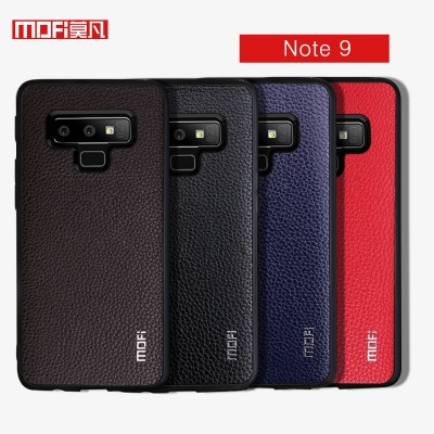 Mofi Case For Samsung Galaxy Note 9 Case Cover Pu Leather Hard Business Style Samsung Note 9 Phone Case