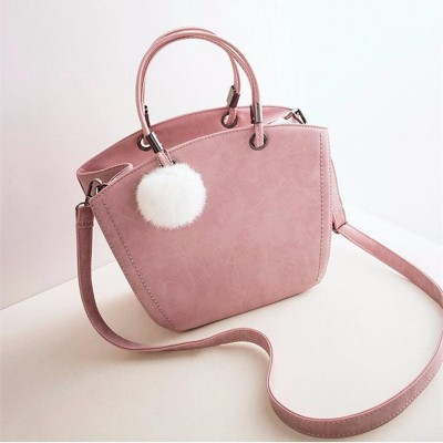 New Fashion Women Shoulder Bag Vintage Winter Woman Handbag Lovely Suede Messenger Bag Crossbody Bag For Women