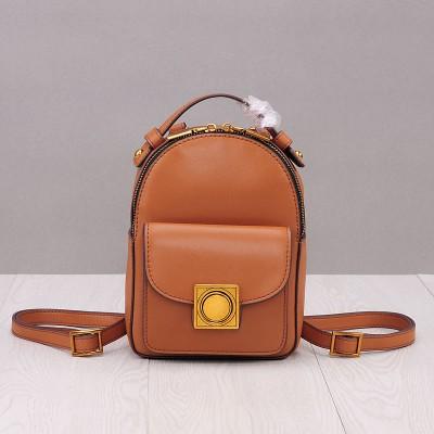 2017 Genuine Leather Mini Backpack Women Solid Bag Backpack High Quality Backpacks For Teenage Girls