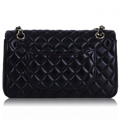 High Quality Sheepskin Bags Classic Diamond Lattice Lambkin Handbags Luxury Brands Women Genuine Leather Shoulder BagsChain Bags